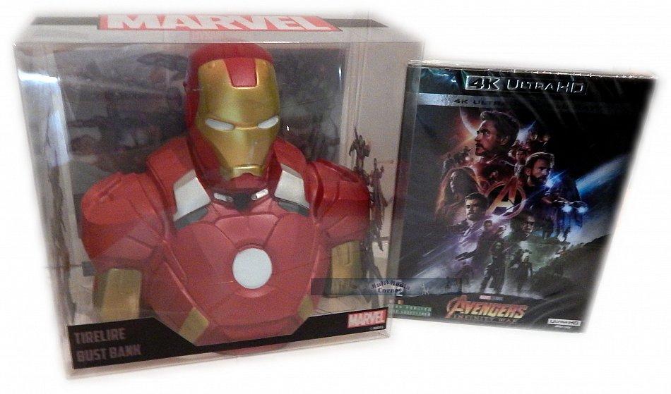 Avengers (3) - Infinity War limited Edition (Marvel Studios) inkl. Iron Man Büste/Statue [4K UHD+Blu-Ray]