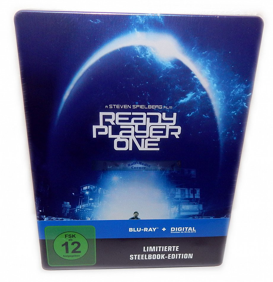Ready Player One limited Steelbook (+UV Copy) [Blu-Ray]