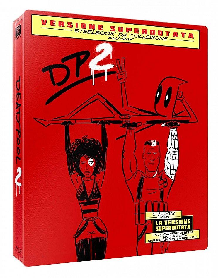 Deadpool 2 [Blu-Ray] limited Steelbook Edition [Blu-Ray] 2-Disc (inkl. Super Duper Cut) Deutscher Ton