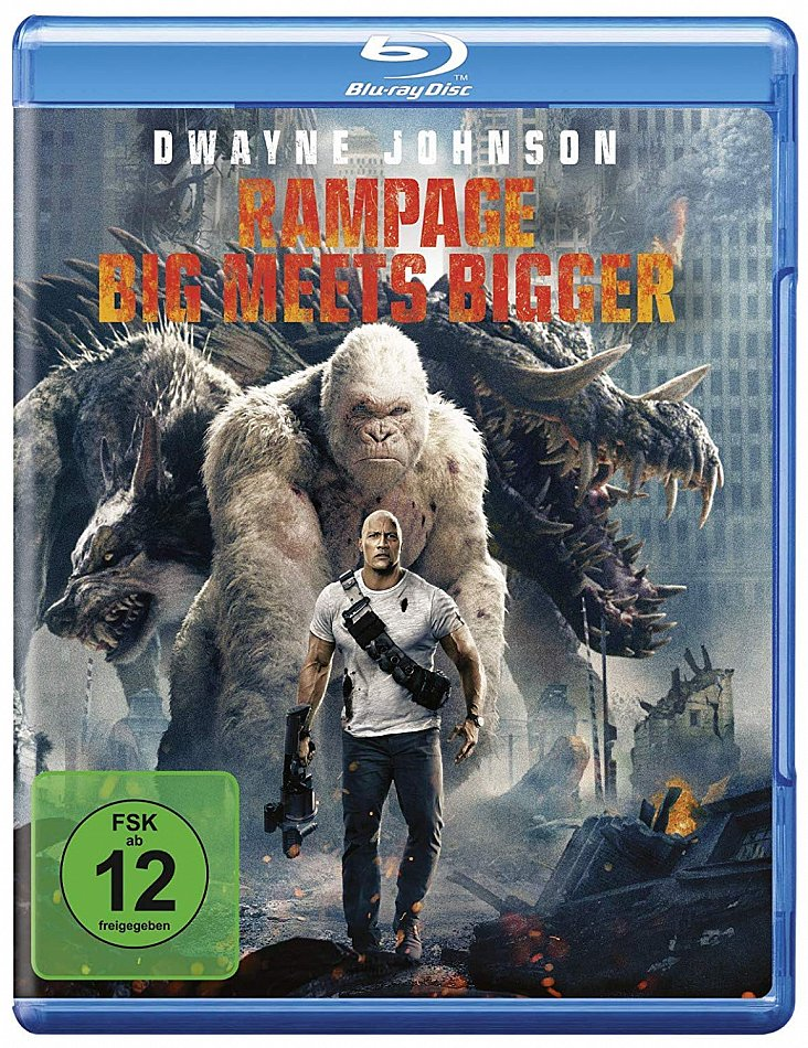 Rampage - Big meets Bigger [Blu-Ray]
