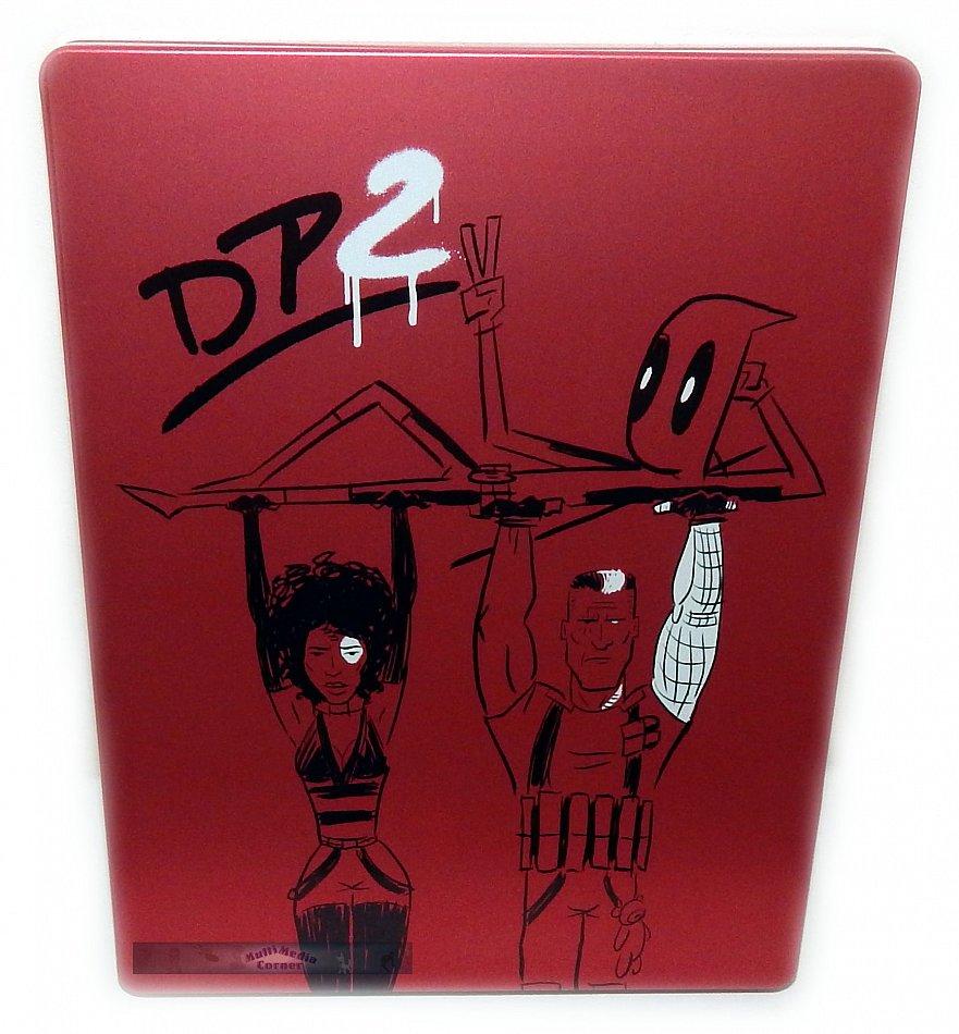Deadpool 2 [Blu-Ray] limited Steelbook Edition [Blu-Ray] 2-Disc (inkl. Super Duper Cut)