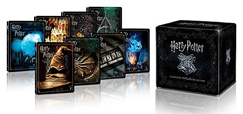 Harry Potter Steelbook Komplettbox Teil 1-7.2 [Blu-Ray] 16-Disc Box-Set
