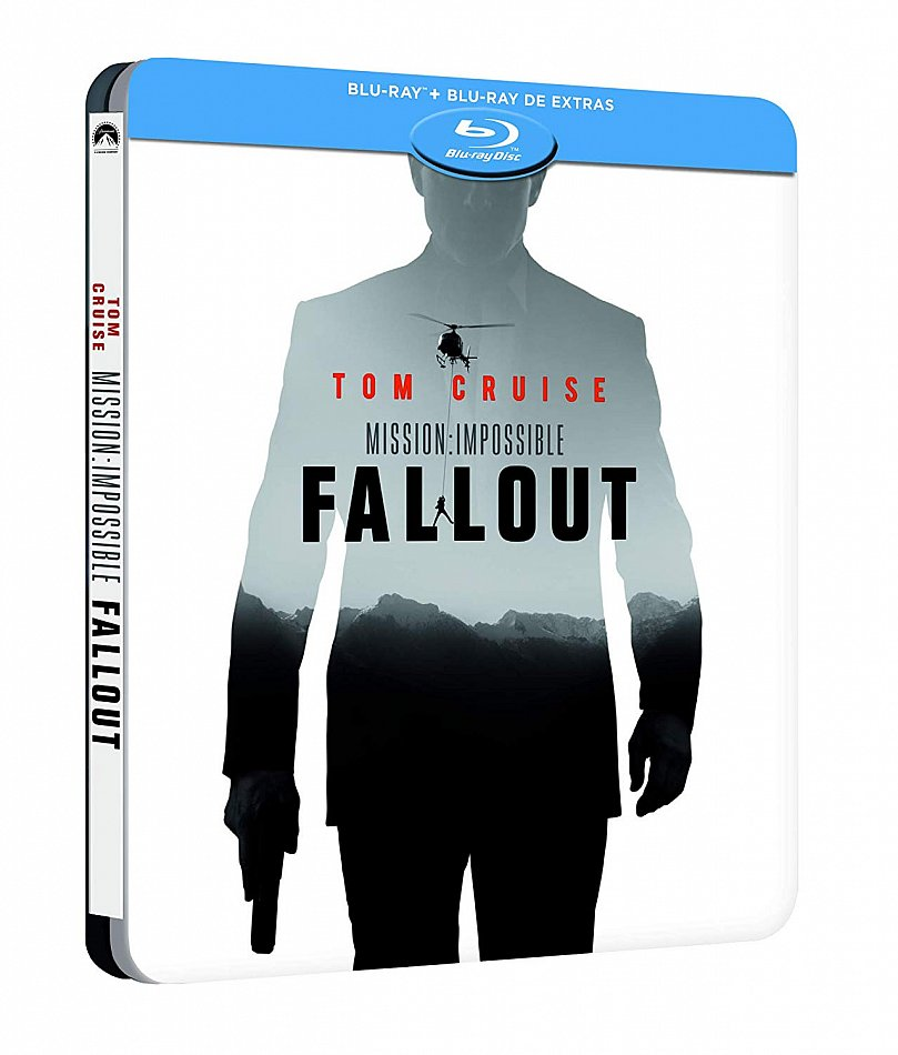 Mission Impossible: Fallout 2-Disc limited Steelbook [Blu-Ray]