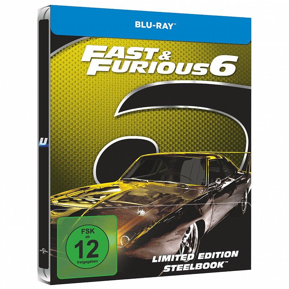 Fast & Furious 6 limited Steelbook [Blu-Ray]