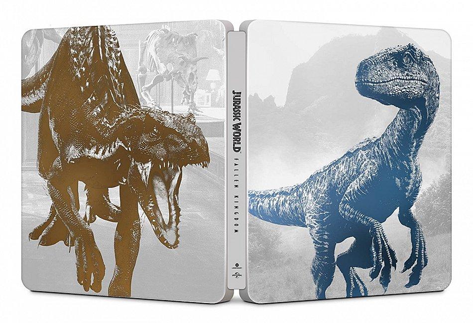 Jurassic World (2): Das gefallene Königreich limited Steelbook [4K UHD+Blu-Ray]