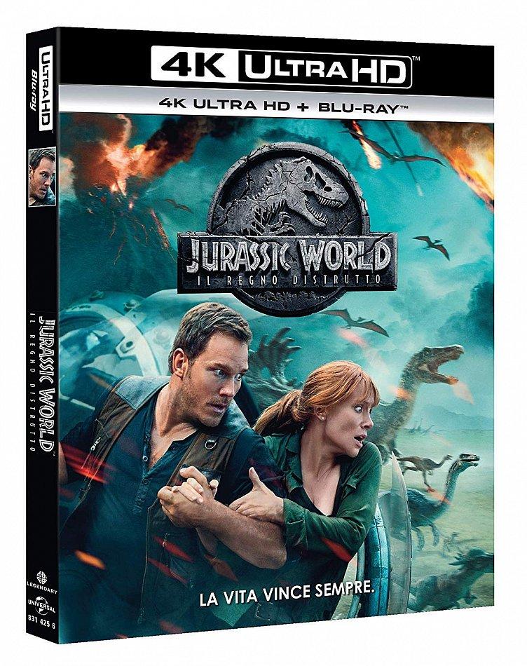 Jurassic World (2): Das gefallene Königreich [4K UHD+Blu-Ray] 2-Disc