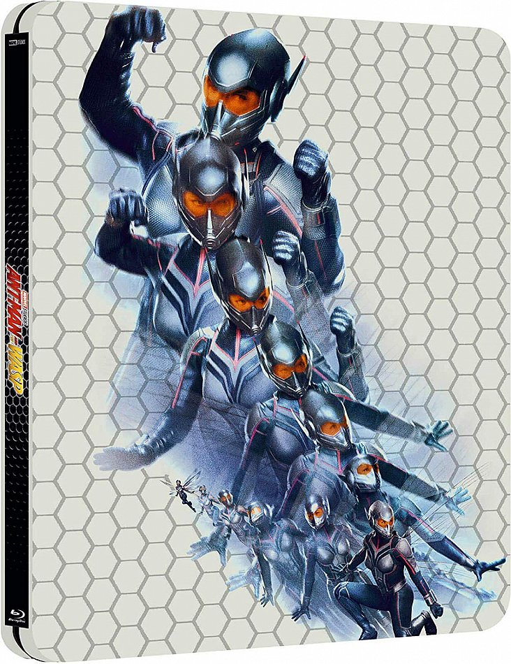 Ant-Man and the Wasp 3D (+2D) [Blu-Ray] limited Steelbook Edition [Blu-Ray] 2-Disc