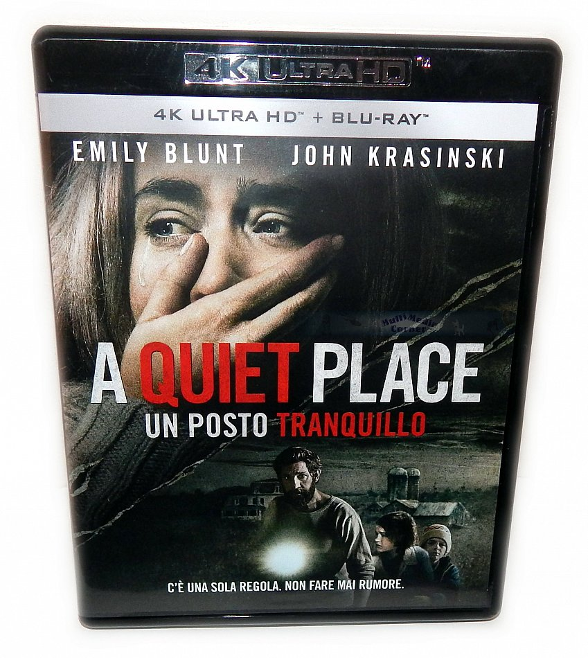 A Quiet Place [4K Ultra HD+Blu-Ray] 2-Disc