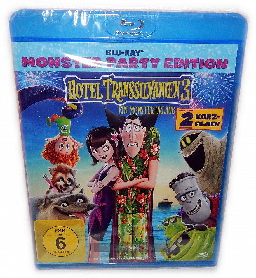 Hotel Transsilvanien 3 Ein Monster Urlaub Sony Pictures Animation [Blu-Ray]