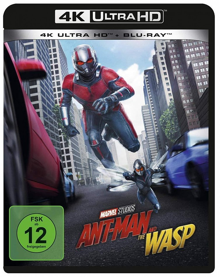 Ant-Man and the Wasp Marvel Studios [4K Ultra HD+Blu-Ray] 2-Disc