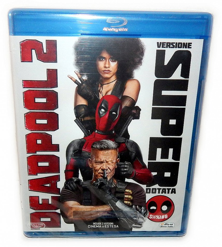 Deadpool 2 [Blu-Ray] 2-Disc (inkl. Super Duper Cut)