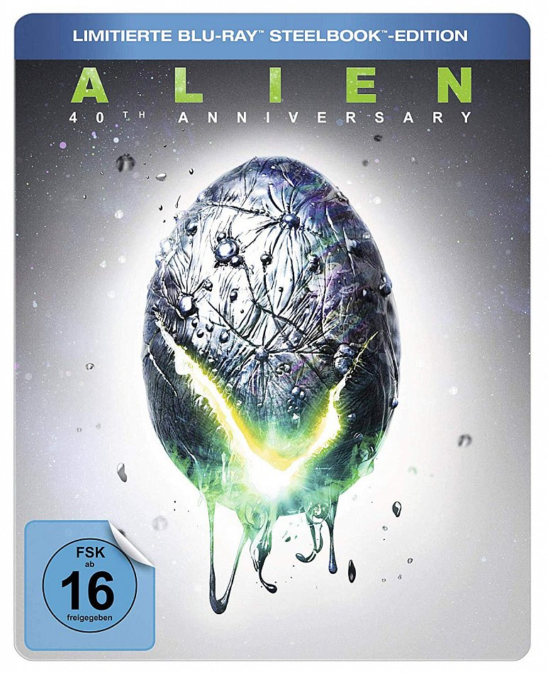 Alien [Blu-Ray] 40th Anniversary Edition limited Steelbook