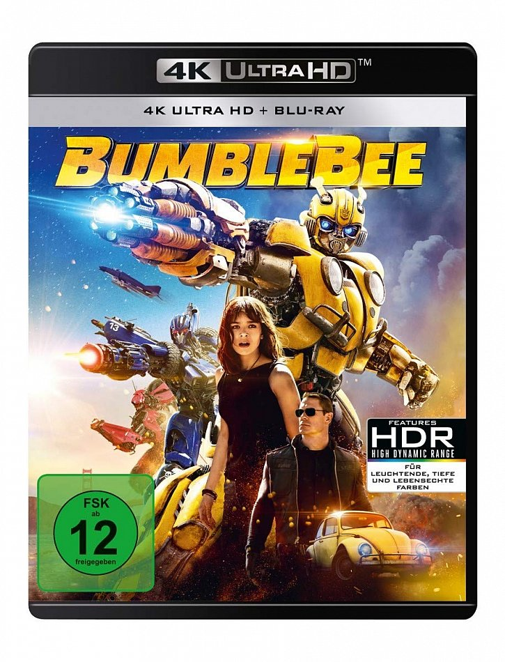 Bumblebee [4K Ultra HD+Blu-Ray] 2-Disc
