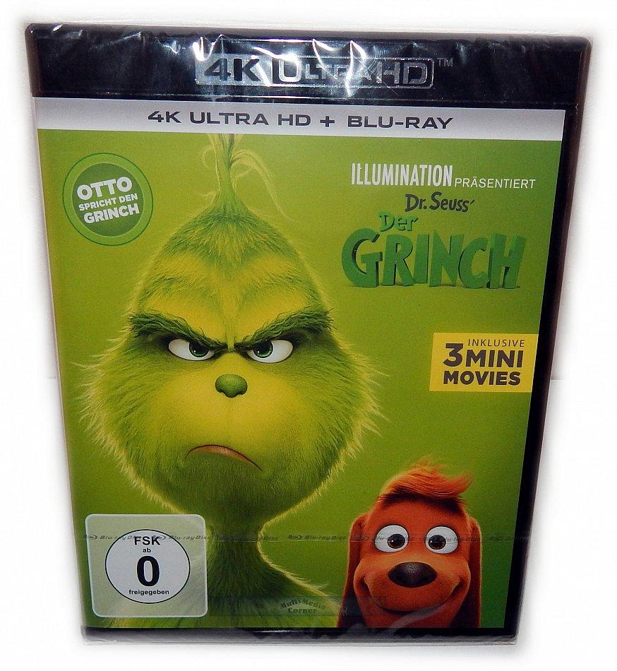 Der Grinch [4K Ultra HD + Blu-Ray] 2-Disc Otto spricht den Grinch