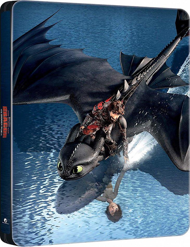 Drachenzähmen leicht gemacht 3 - Die geheime Welt limited Steelbook [Blu-Ray]