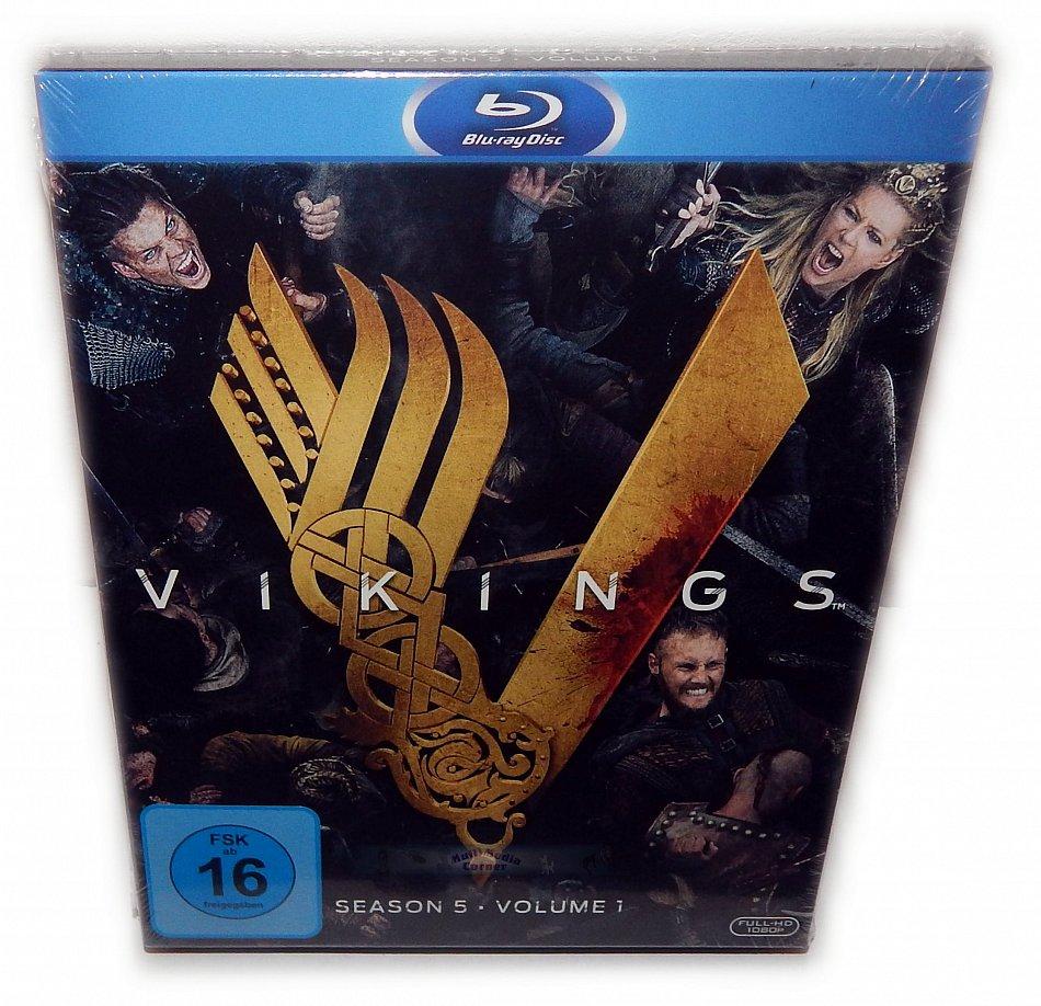 Vikings Staffel/Season 5 - Volume 1 [Blu-Ray] 3-Disc Digi-Pak