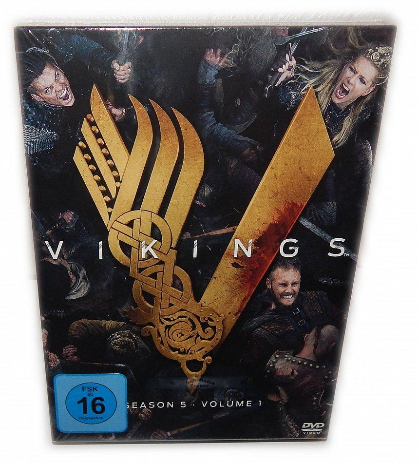 Vikings Staffel/Season 5 - Volume 1 [DVD] 3-Disc Digi-Pak