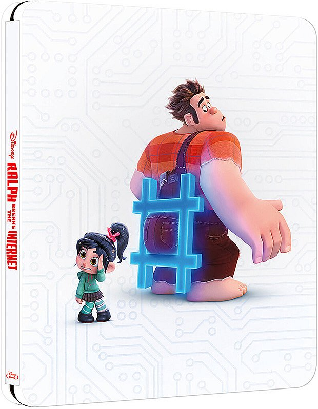 Chaos im Netz (Ralph reichts 2) limited Steelbook Walt Disney [Blu-Ray]
