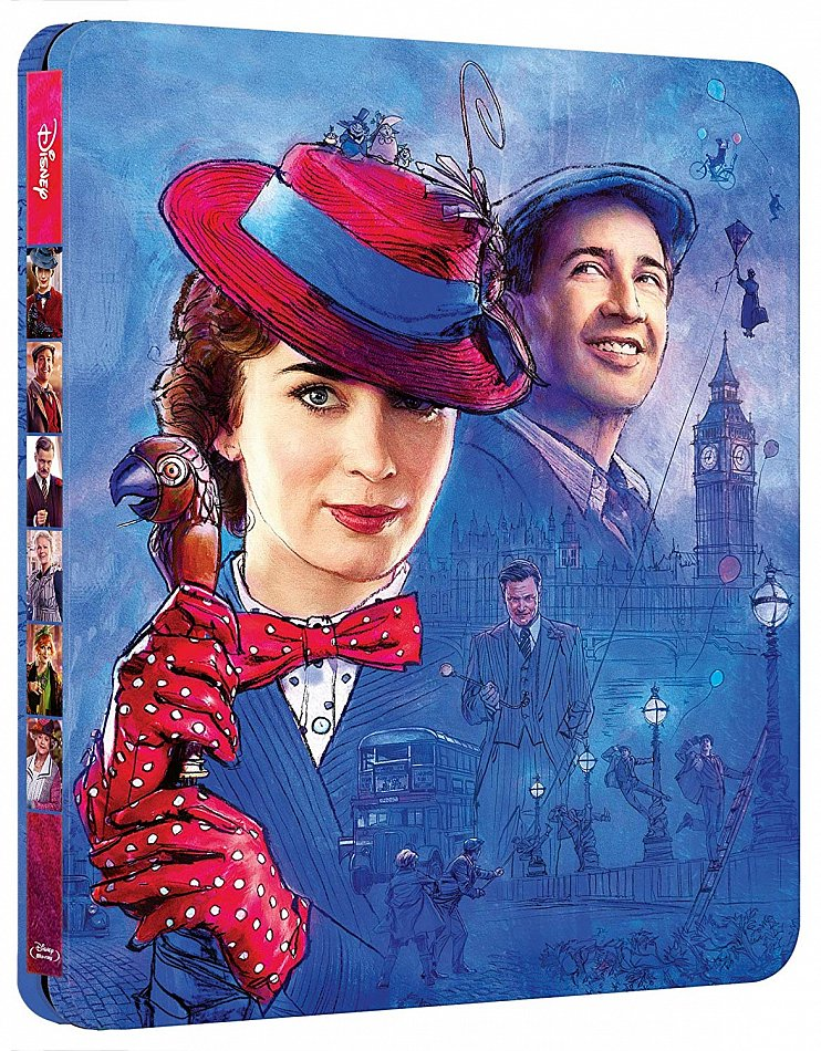 Mary Poppins' Rückkehr limited Steelbook Walt Disney [Blu-Ray]