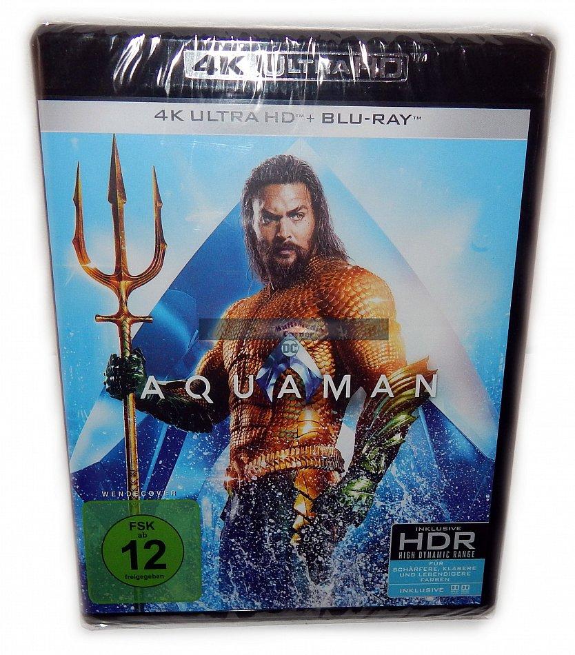 Aquaman [4K Ultra HD+Blu-Ray] 2-Disk