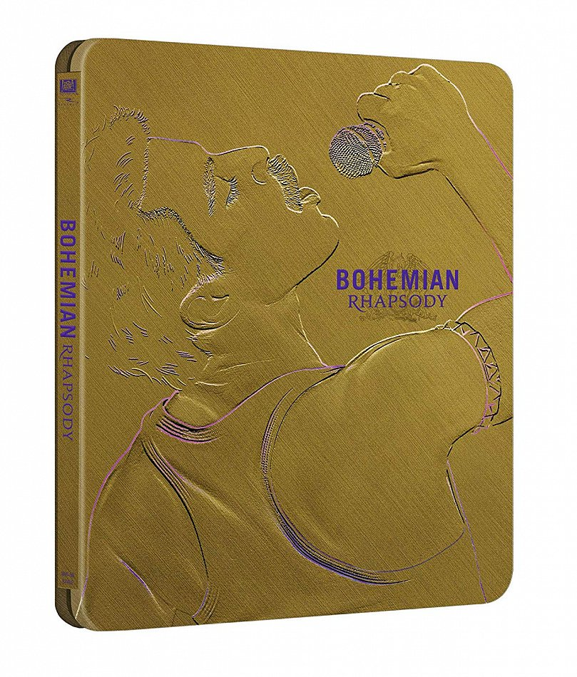 Bohemian Rhapsody limited Steelbook [Blu-Ray]