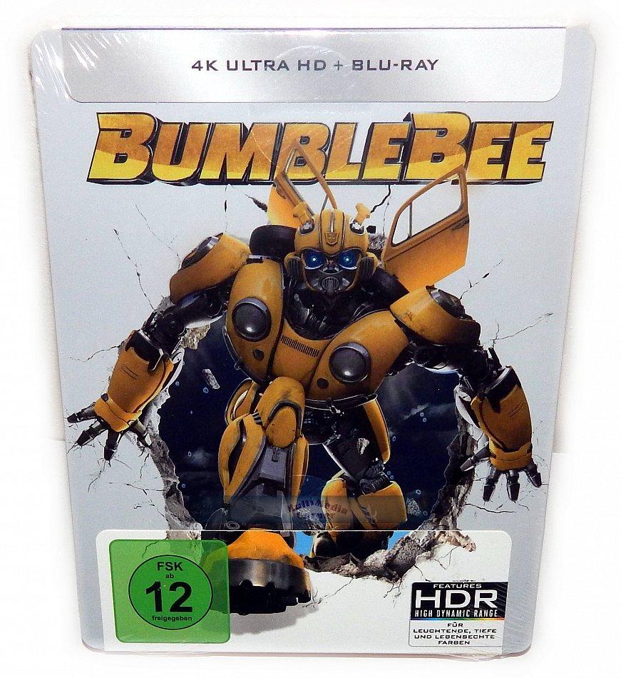 Bumblebee [4K Ultra HD+Blu-Ray] 2-Disc limited Steelbook