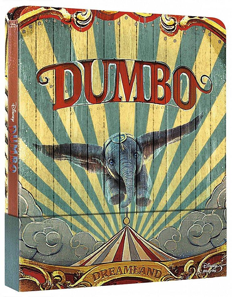 Dumbo (Realverfilmung) limited Steelbook Walt Disney [Blu-Ray]