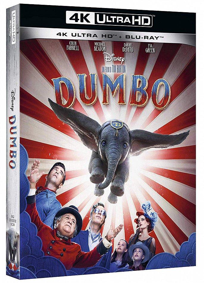 Dumbo (Realverfilmung) Walt Disney 2-Disc [4K Ultra HD+Blu-Ray]