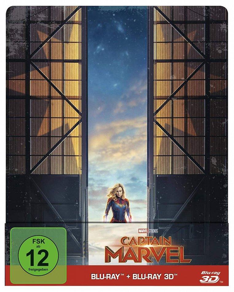 Captain Marvel 3D (+2D) limited Steelbook (Marvel Studios) 2-Disc