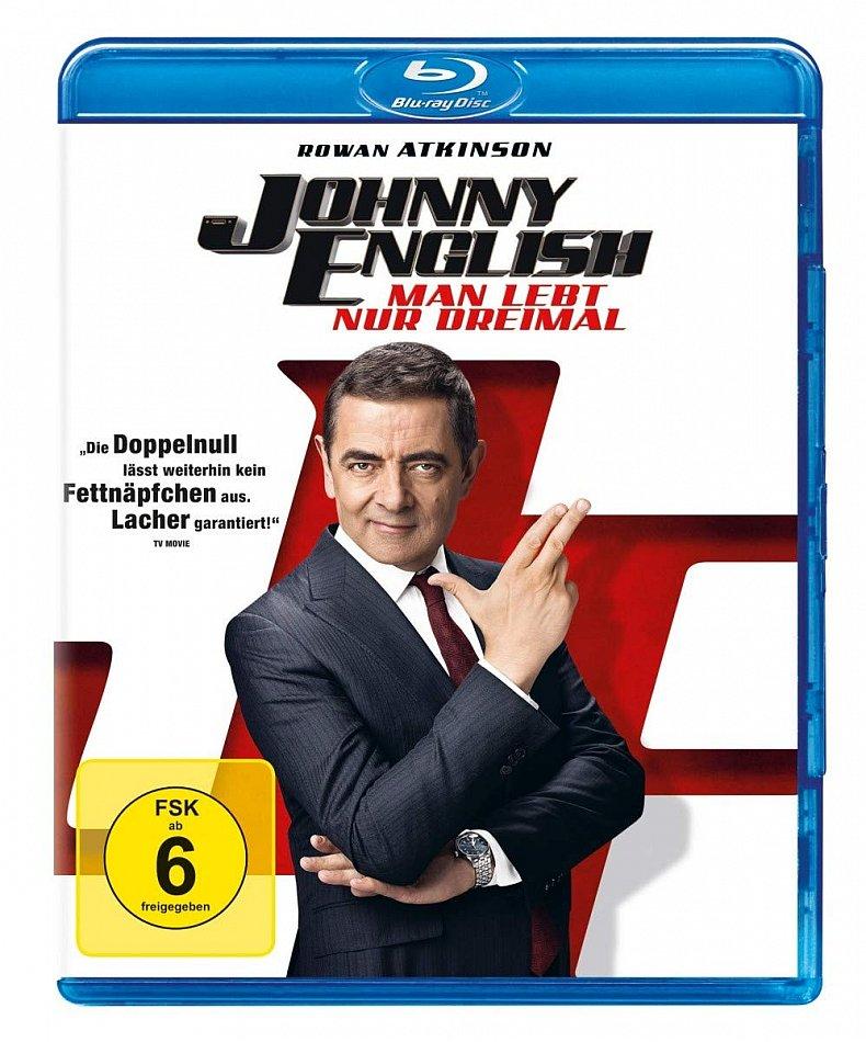 Johnny English (3) Man lebt nur dreimal [Blu-Ray]