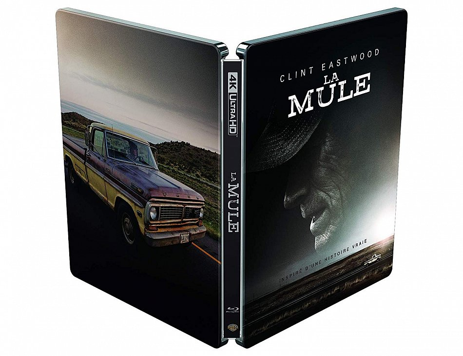 The Mule [4K Ultra HD+Blu-Ray] limited Steelbook