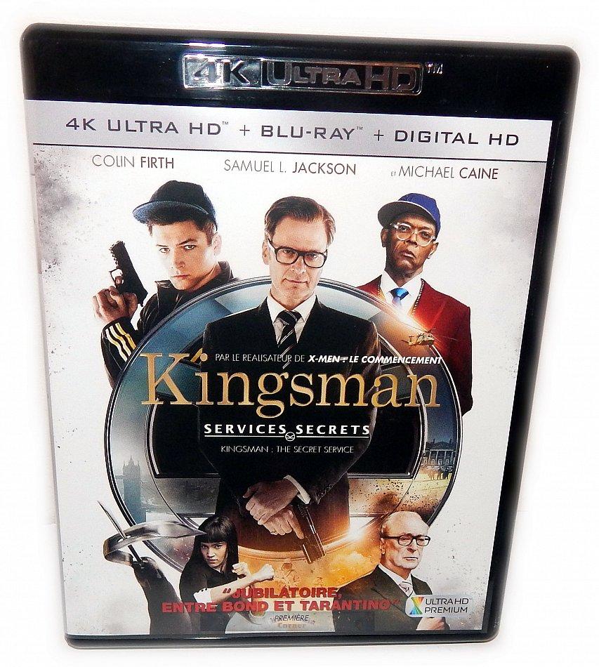 Kingsman - The Secret Service [4K Ultra HD+Blu-Ray] 2-Disc
