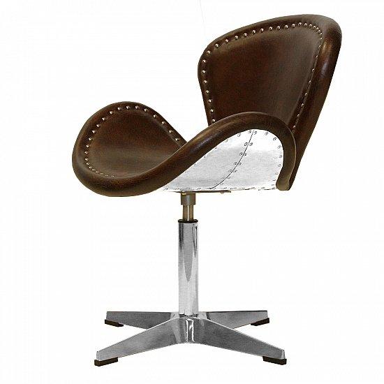 vintage ledersessel retro echtleder drehsessel egg chair sessel clubsessel 437 ebay. Black Bedroom Furniture Sets. Home Design Ideas