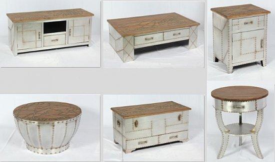 vintage couchtisch industrie used design tisch retro kaffeetisch m bel 508 ebay. Black Bedroom Furniture Sets. Home Design Ideas