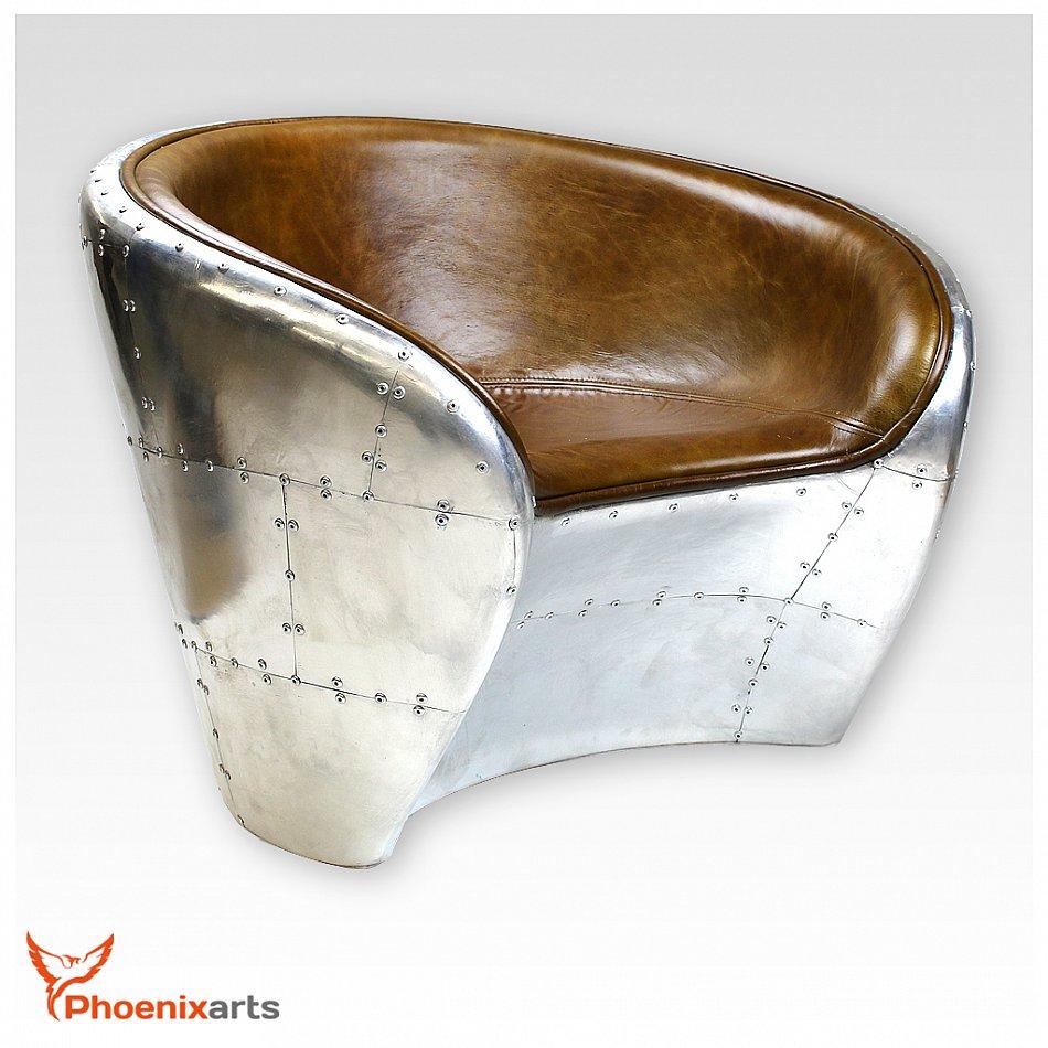 vintage cuir v ritable si ge baquet design fauteuil en cuir r tro ebay. Black Bedroom Furniture Sets. Home Design Ideas