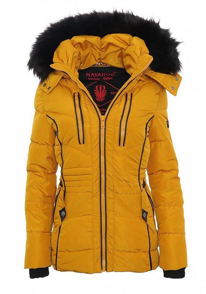 6573b74c0d3ad5 Navahoo ESMA Damen Herbst Winter Stepp Jacke Kurz Parka Mantel warm ...