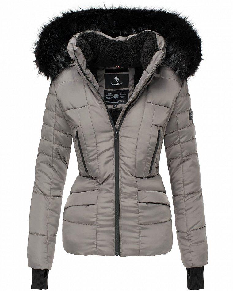 Details about Navahoo Adele Ladies Winter Quilted Jacket Parka Short Coat Winter Jacket Lined show original title