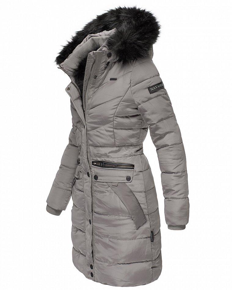 Zu Mantel Jacke Navahoo Steppjacke Details Kapuze Parka Warm Damen Winter Gefüttert Paula H29EDI