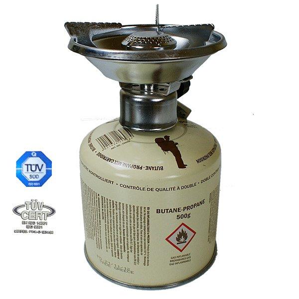GASKOCHER CAMPINGMAN inkl 500 G BUTANGAS CAMPINGKOCHER PICKNICKKOCHER GASOFEN