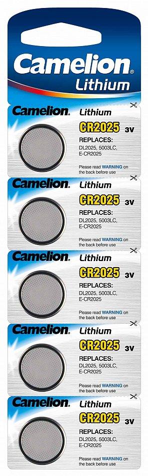top camelion 3v lithium knopfzellen cr2025 batterien rauchmelder uhren spielzeug ebay. Black Bedroom Furniture Sets. Home Design Ideas