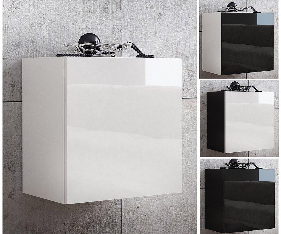 badezimmerschrank badschrank badregal badm bel 50 x 50 hochglanz wei schrank ebay. Black Bedroom Furniture Sets. Home Design Ideas