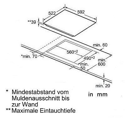 kochfeld autark einbau bosch 651 facette touch control glaskeramik 60cm neu ebay. Black Bedroom Furniture Sets. Home Design Ideas