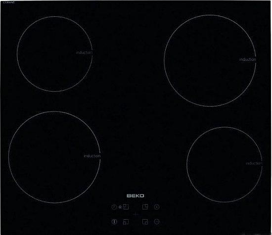 Beko hii64401at induktion kochfeld 60cm autark touch for Kochfeld induktion 2 platten