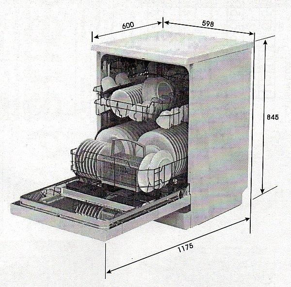 Spulmaschine 60cm amica freistehend geschirrspuler for Freistehende spülmaschine
