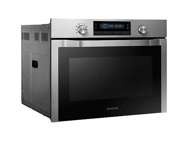 Samsung Kompakt 45cm Einbau Backofen 50l 15pr Grill Heissluft Und