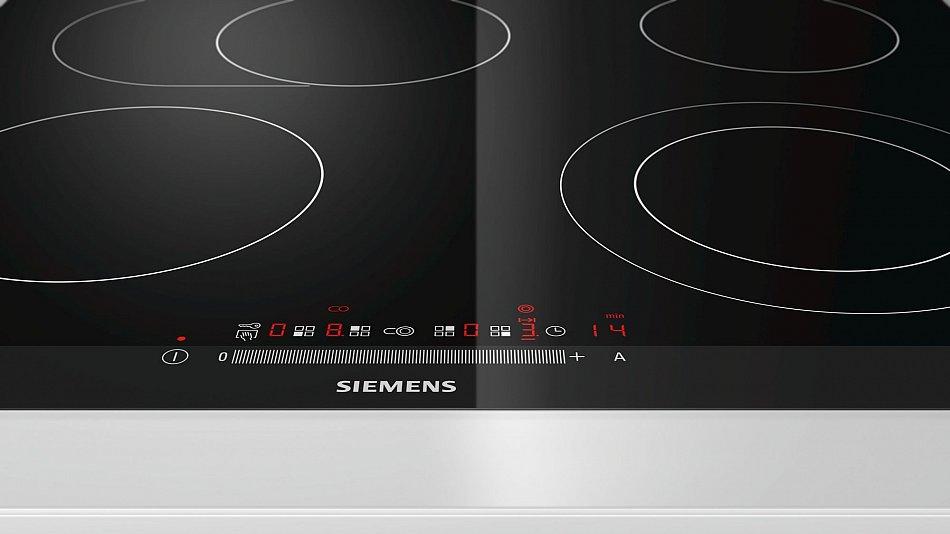 siemens glaskeramik kochfeld autark br terzone facette touch slider 60cm ceran ebay. Black Bedroom Furniture Sets. Home Design Ideas