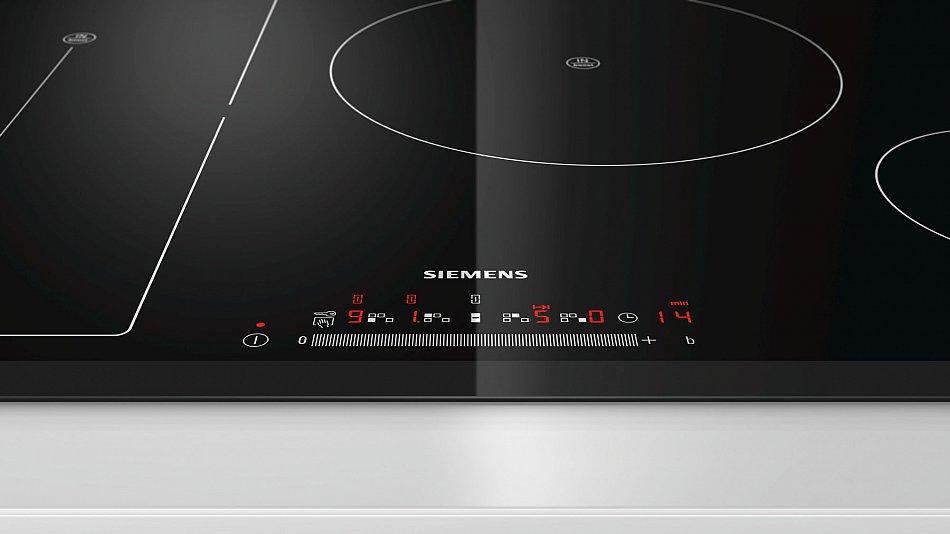 induktionskochfeld 80cm autark einbau siemens facette touch slider timer neu ebay. Black Bedroom Furniture Sets. Home Design Ideas