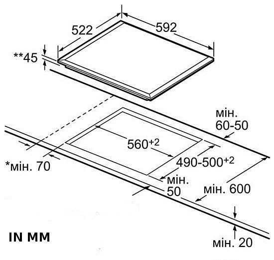 herdset autark bosch backofen umluft facette glaskeramik kochfeld 60 cm neu ebay. Black Bedroom Furniture Sets. Home Design Ideas