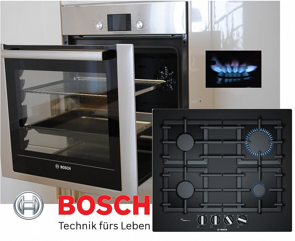 herd bosch gas herdset autark backwagen backofen gas. Black Bedroom Furniture Sets. Home Design Ideas