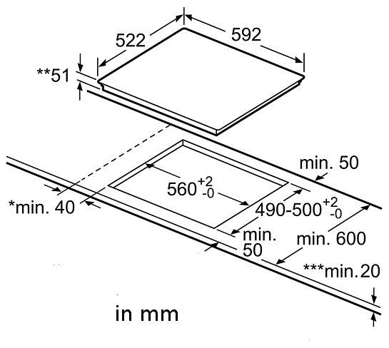 induktion herd set autark bosch einbau backofen induktion kochfeld 60 cm neu ebay. Black Bedroom Furniture Sets. Home Design Ideas